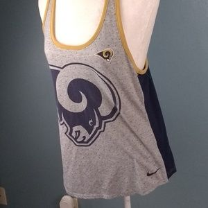 LA Rams dri fit tank